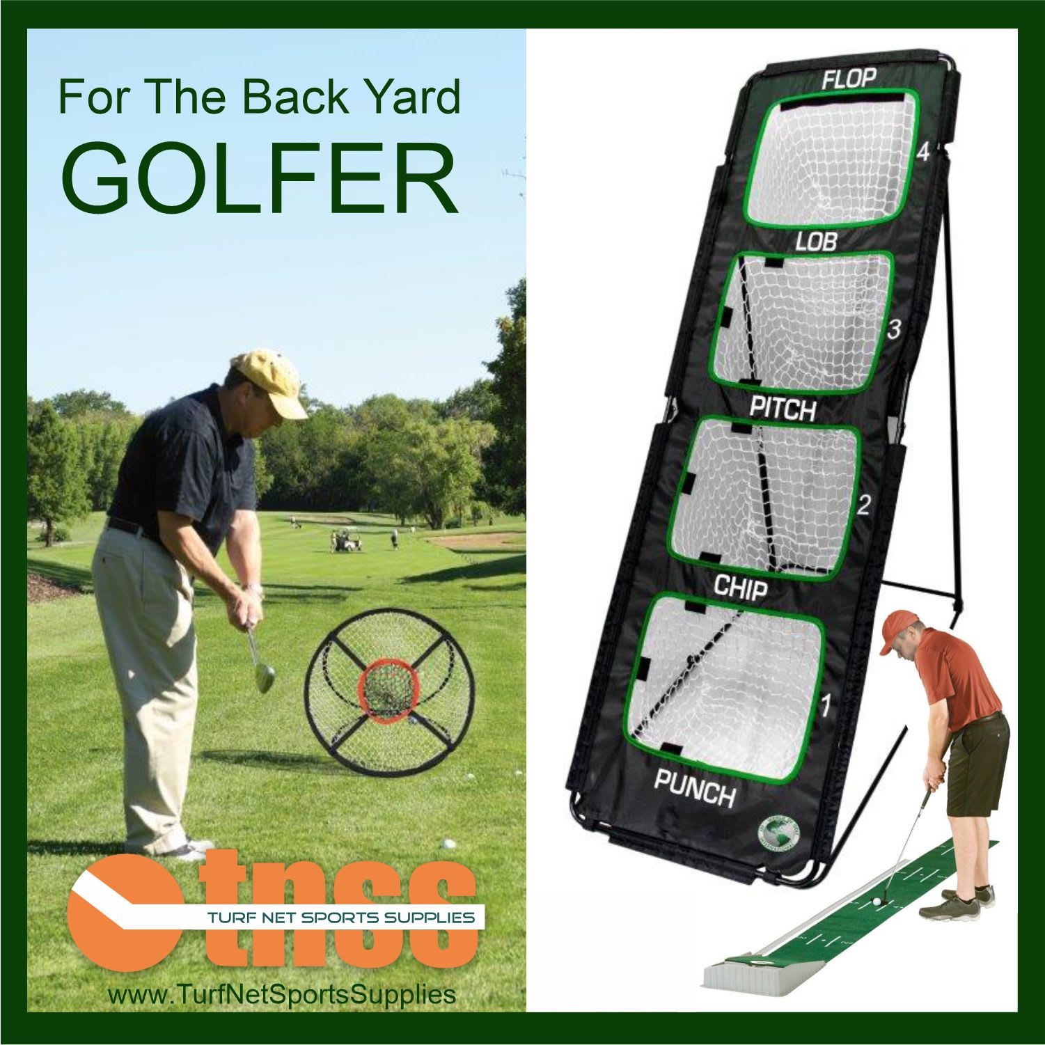 For the backyard golfer