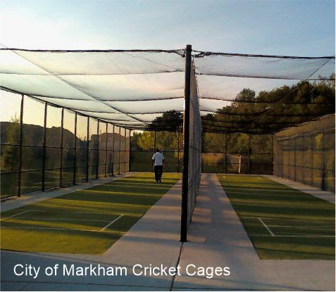 city of markham cricket cages