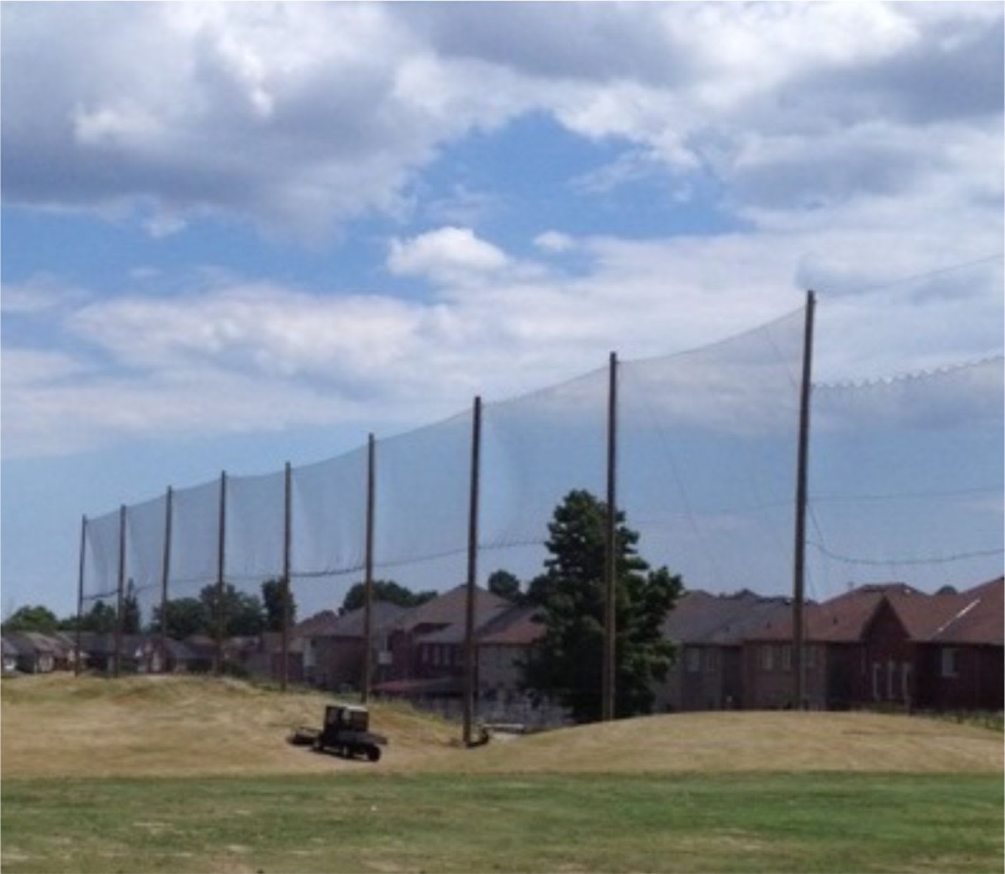 golf containment netting