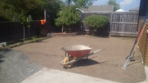 tools and materials needed for laying synthetic grass