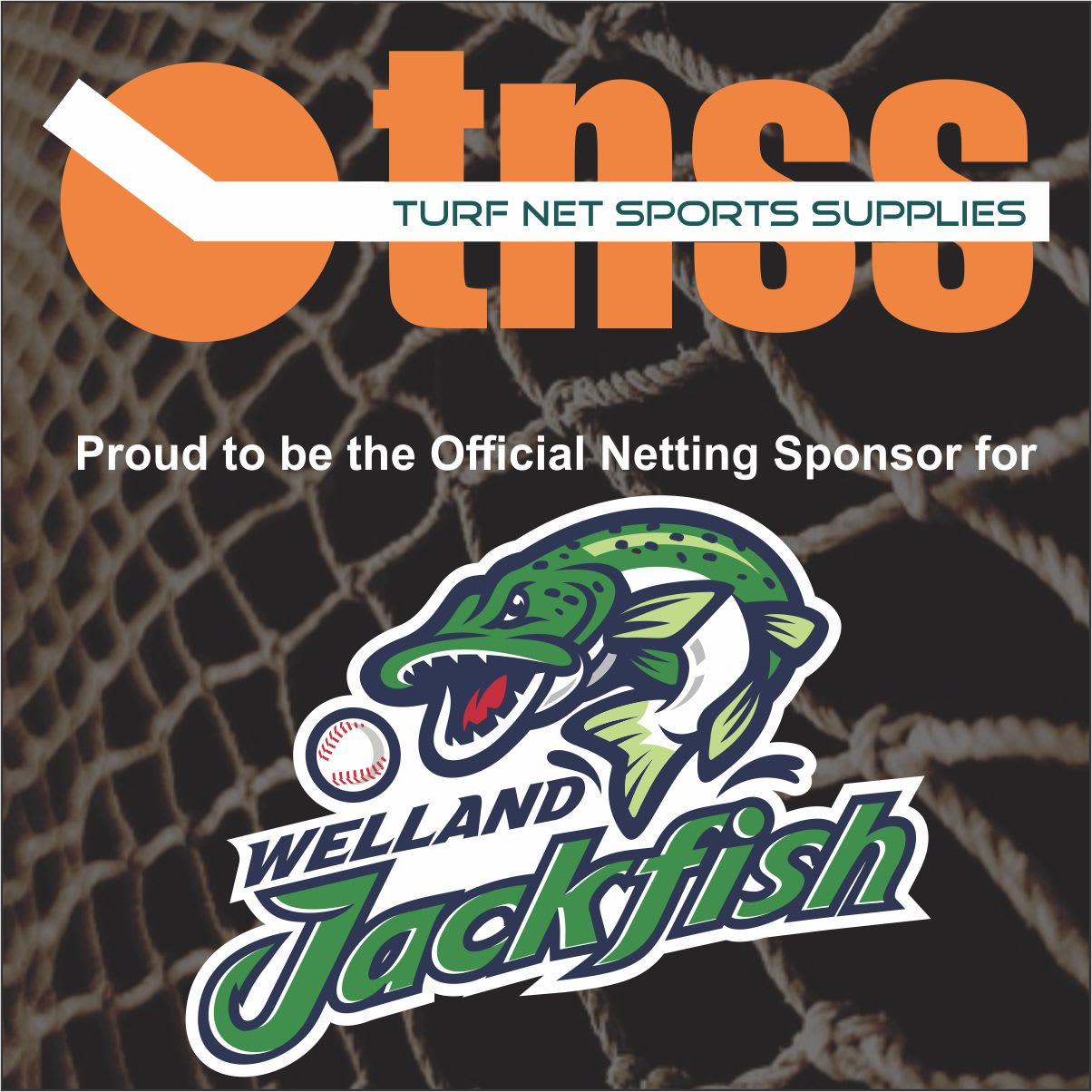 Proud sponsor of the Welland Jackfish