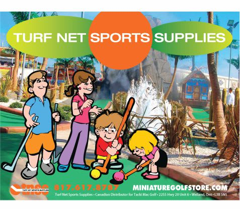 Miniature Golf Store Catalogue