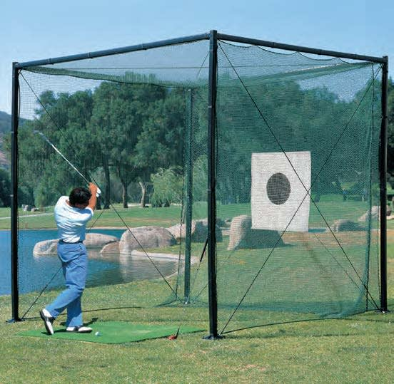 power cage    golf