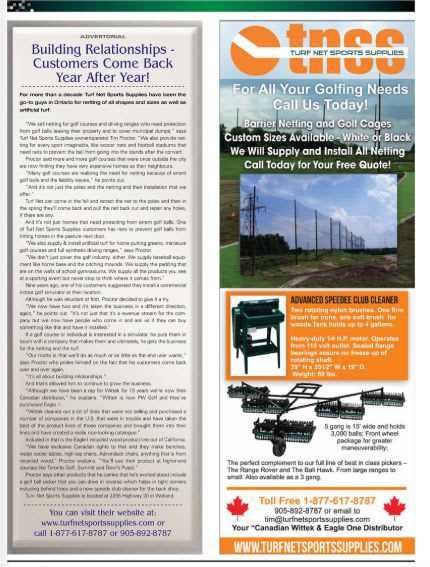 article and ad as it appeared in Pro Magazine