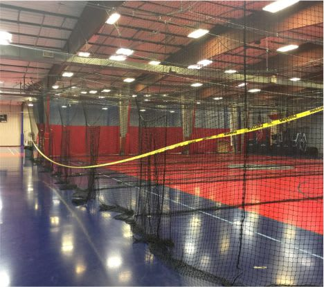 recreational facility batting cages