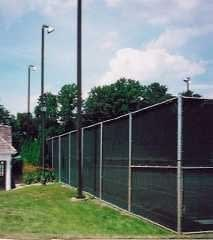 tennis court screen