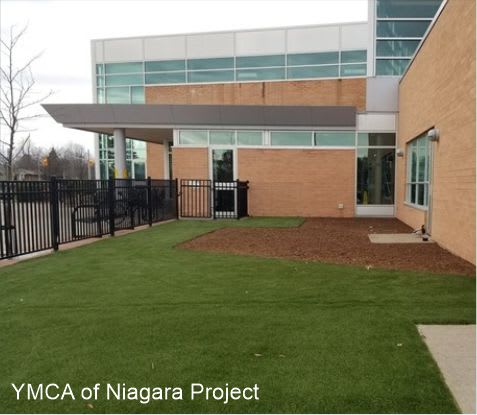 ymca of niagara project with Rotary of Welland
